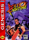 Art of Fighting - Cover Art Sega Genesis