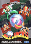 Ball Jacks - Cover Art Sega Genesis