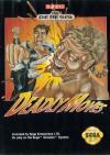 Deadly Moves - Cover Art Sega Genesis