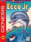 Ecco Jr.  - Cover Art Sega Genesis