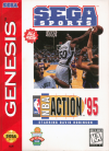 NBA Action '95 starring David Robinson - Cover Art Sega Genesis