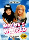 Wayne's World - Cover Art Sega Genesis