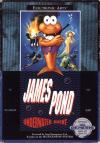 James Pond: Underwater Agent - Cover Art Sega Genesis