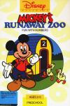 Mickey's Runaway Zoo - Cover Art DOS
