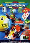 Micro Machines - Cover Art Sega Genesis