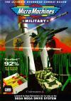 Micro Machines: Military - Cover Art Sega Genesis