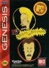 MTV's Beavis and Butt-Head  - Cover Art Sega Genesis