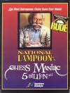 National Lampoon's Chess Maniac 5 Billion and 1  - Cover Art DOS
