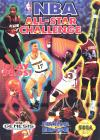 NBA All-Star Challenge - Cover Art Sega Genesis