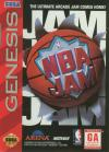 NBA Jam - Cover Art Sega Genesis
