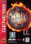 NBA Jam Tournament Edition - Cover Art Sega Genesis