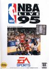 NBA Live 95 - Cover Art Sega Genesis