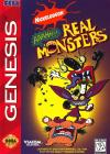 Nickelodeon: Aaahh!!! Real Monsters - Cover Art Sega Genesis