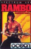 Rambo: First Blood Part II - Cover Art ZX Spectrum