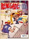 Renegade  - Cover Art Amiga