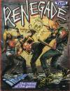 Renegade - Amstrad CPC Cover Art