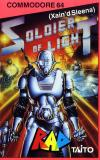 Soldier of Light  - Cover Art Commodore 64