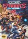 Streets of Rage 2 - Cover Art Sega Genesis