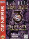 Ultimate Mortal Kombat 3 - Cover Art Sega Genesis
