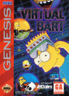 Virtual Bart  -  Cover Art Sega Genesis
