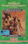 War of the Lance - Cover Art DOS