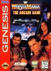 WWF WrestleMania - Cover Art Sega Genesis