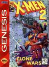 X-Men 2: Clone Wars - Cover Art Sega Genesis