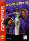 X-Perts - Cover Art Sega Genesis