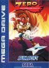 Zero the Kamikaze Squirrel - Cover Art Sega Genesis