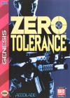 Zero Tolerance - Cover Art Sega Genesis