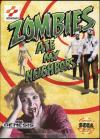 Zombies Ate My Neighbors - Cover Art Sega Genesis