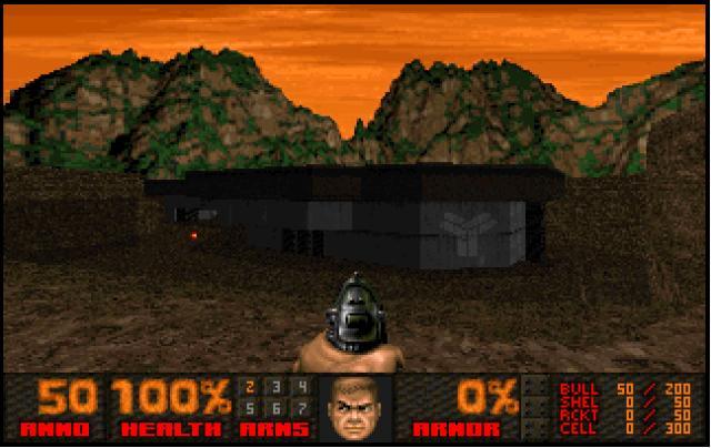 THE DARKENING 2 (Doom2 mod)   ClassicReload com