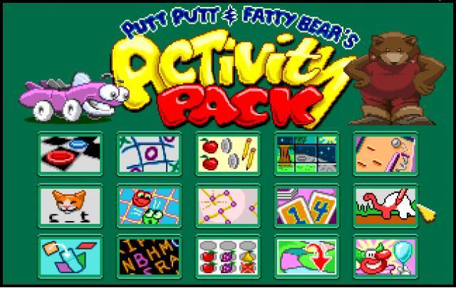 Putt Putt And Fatty Bear S Activity Pack Classicreload Com Kiddy puzzles demo (0 min). putt putt and fatty bear s activity