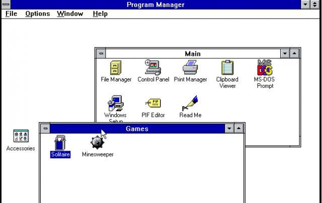 Windows 3 1   ClassicReload com