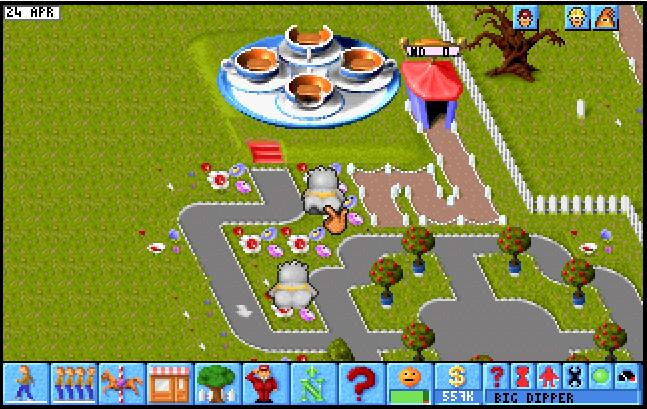 Theme Park (Floppy Version)   ClassicReload com
